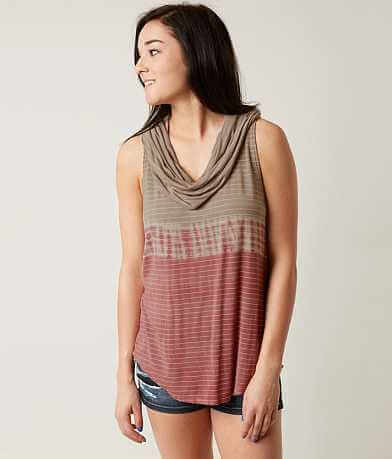Gilded Intent Striped Tank Top
