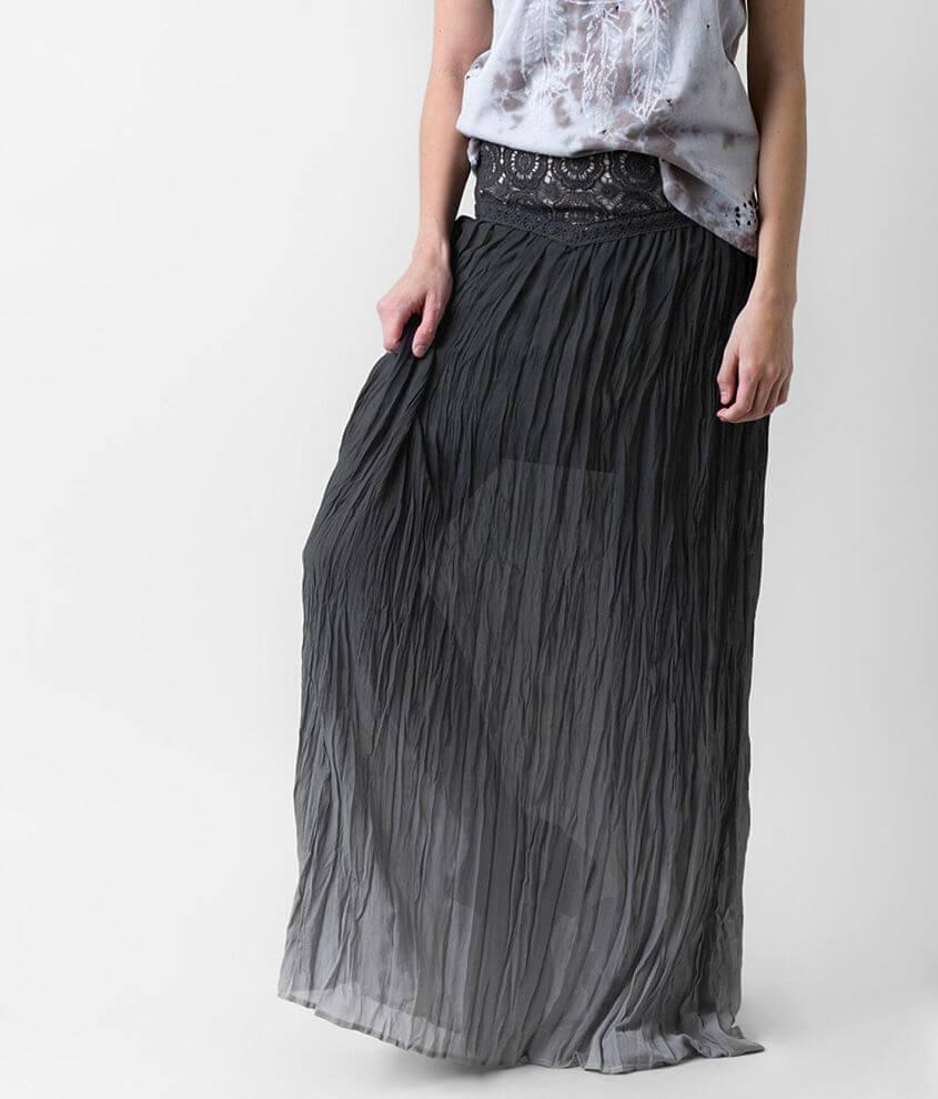 Gimmicks Dip Dye Maxi Skirt front view