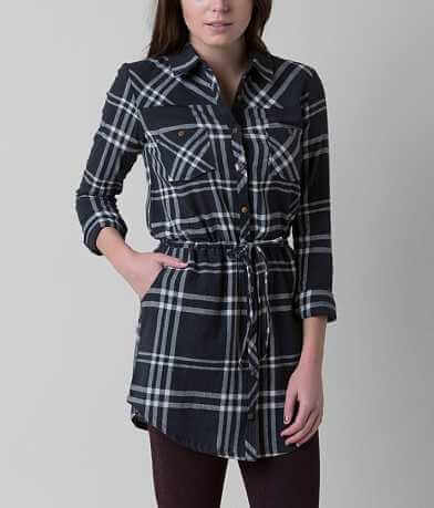 Element Madly Plaid Tunic Shirt