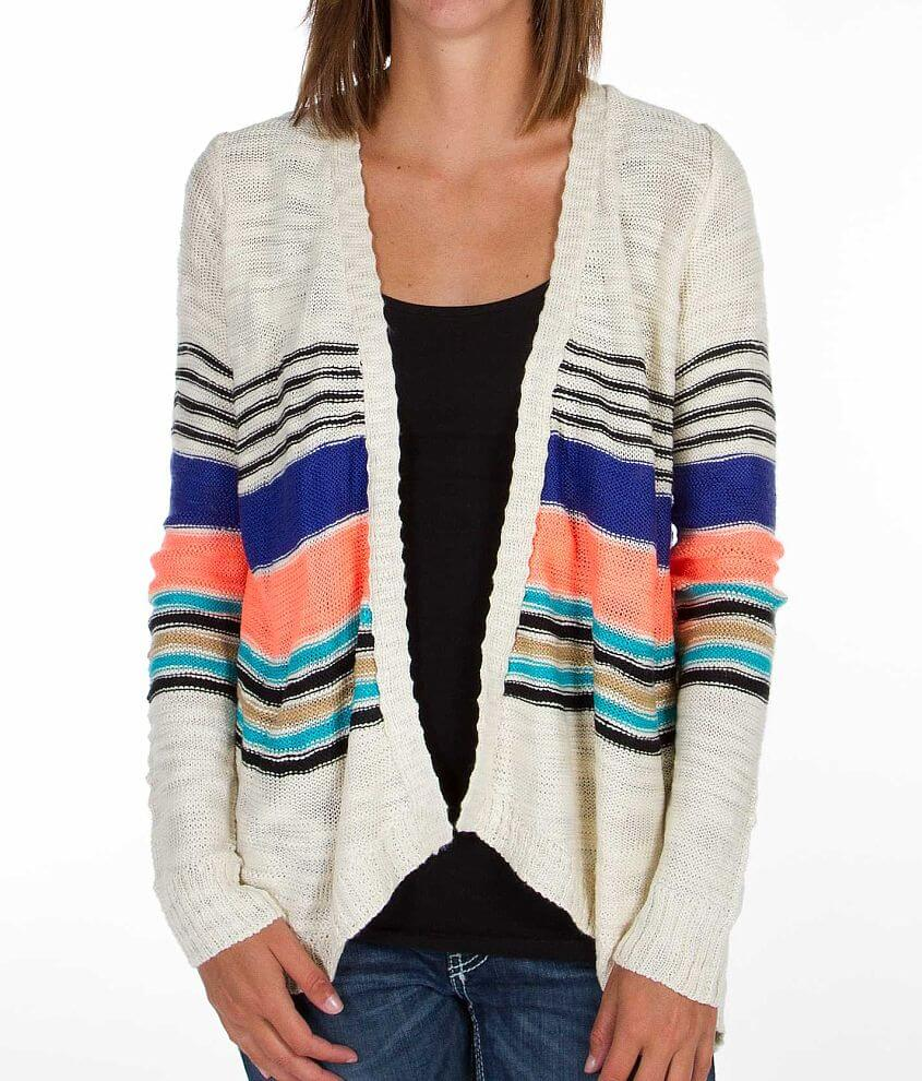Element Hyde Cardigan Sweater front view