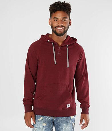 Element Horizon Hooded Henley Sweatshirt