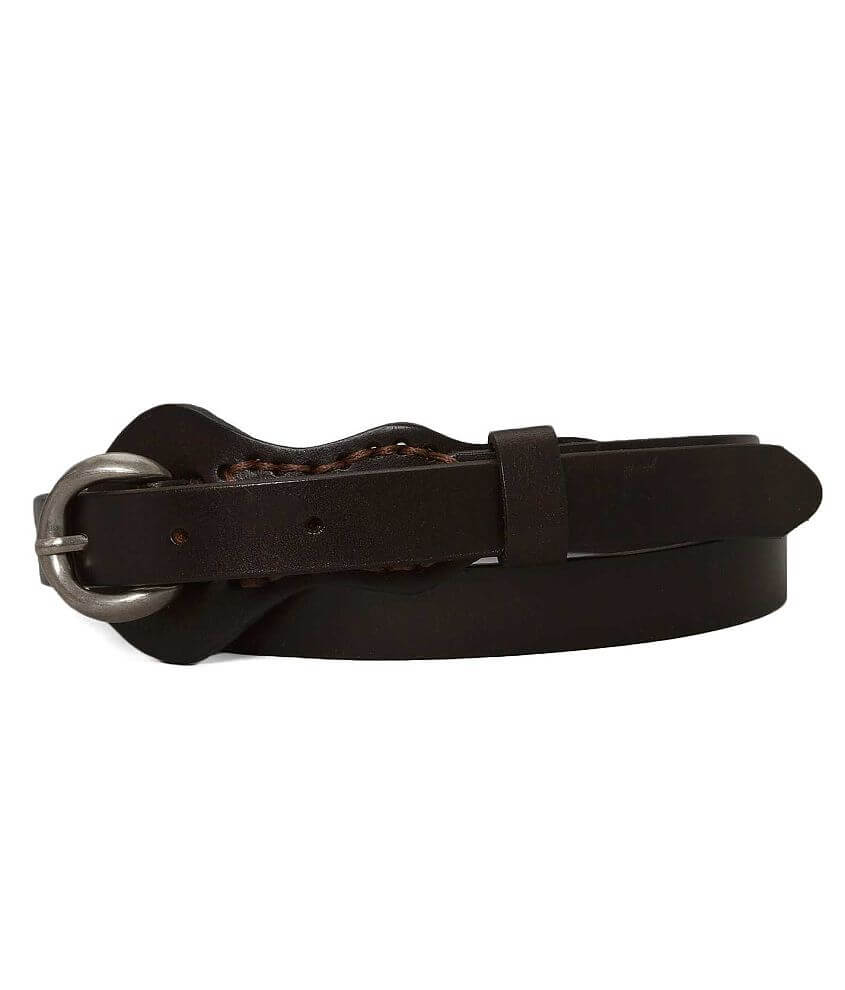 BKE Faux Leather Belt front view
