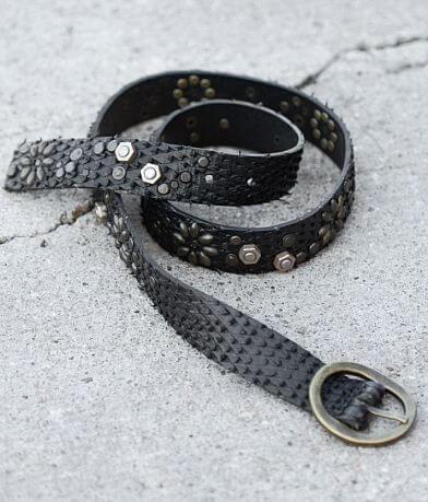 BKE Textured Leather Belt