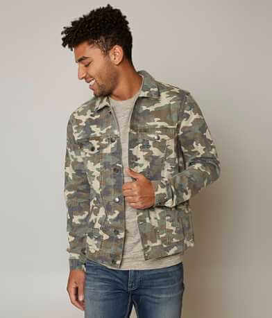 Elwood Camo Denim Jacket