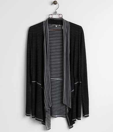 BKE Striped Cardigan