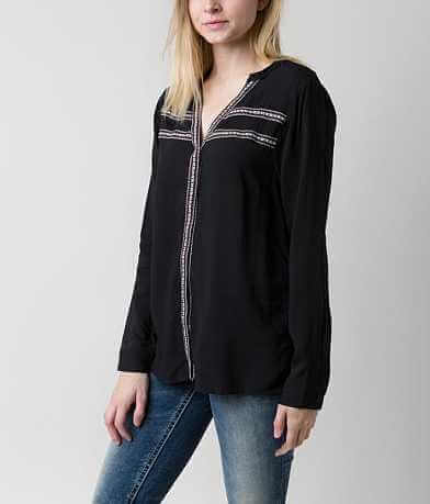 BKE Split Neck Shirt