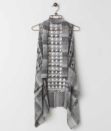 BKE Open Weave Vest