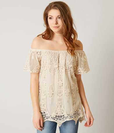 Rain + Rose Lace Top