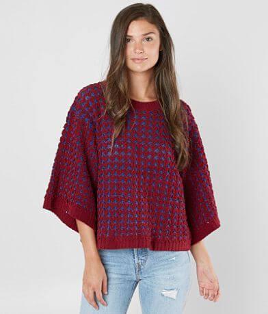 rain + rose Plush Yarn Sweater