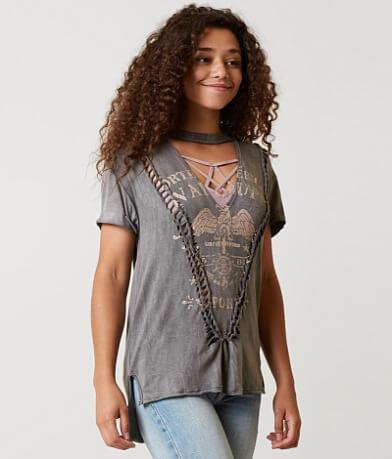 Modish Rebel Raw Edge T-Shirt