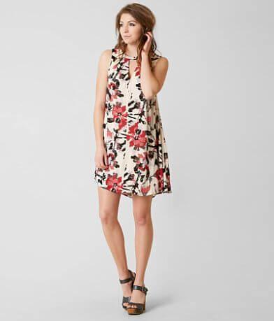 En Crème Floral Dress