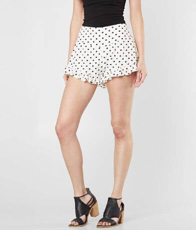 En Creme Polka Dot Short