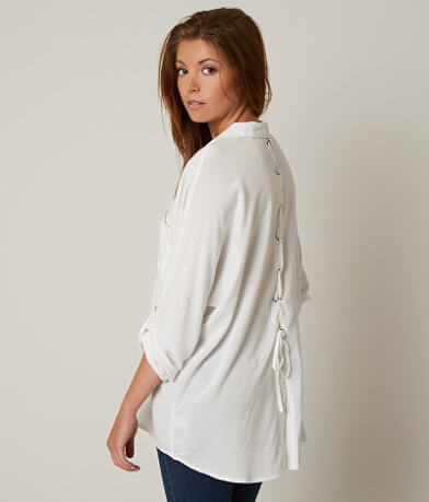 willow & root High Low Hem Shirt