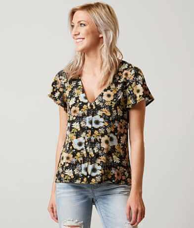 En Crème Floral Shirt