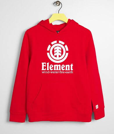 Boys - Element Vertical Hooded Sweatshirt