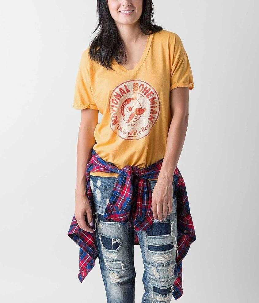 Retro Brand National Bohemian T-Shirt front view