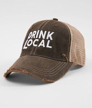 Retro Brand Drink Local Baseball Hat