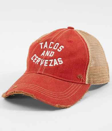Distant Replays Tacos & Cervezas Baseball Hat