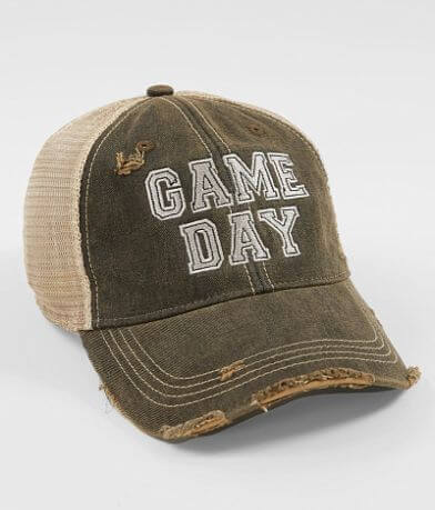 Retro Brand Game Day Baseball Hat
