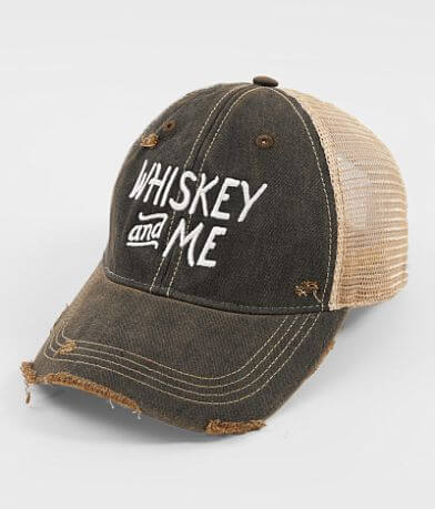 Distant Replays Whiskey & Me Baseball Hat
