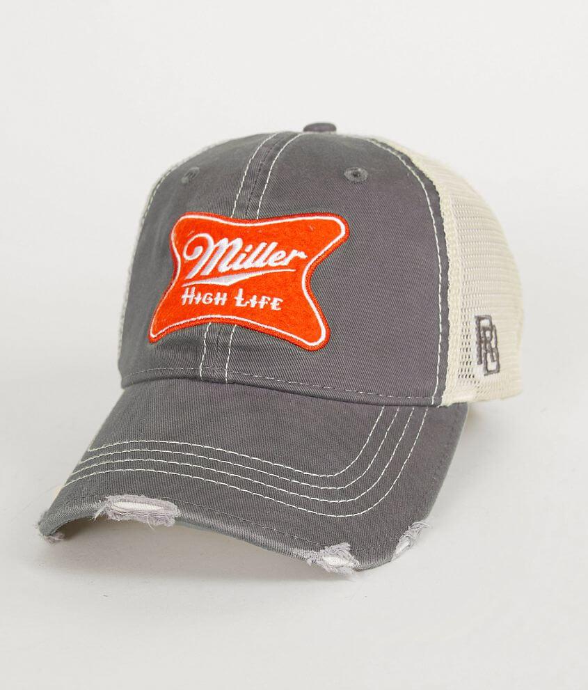 427c86847 Retro Brand Miller High Life Trucker Hat - Men's Hats in Charcoal ...