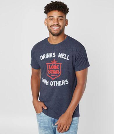 Retro Brand Lone Star Beer T-Shirt