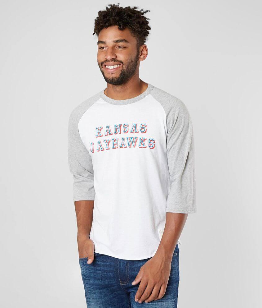 Retro Brand Kansas Jayhawks T-Shirt front view