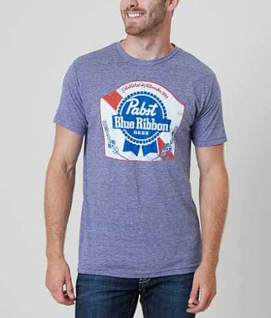Distant Replays Pabst Blue Ribbon Vintage T-Shirt