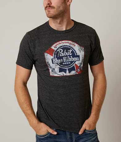 Distant Replays Pabst Blue Ribbon T-Shirt