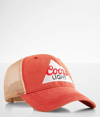 Retro Brand Coors Light Washed Baseball Hat