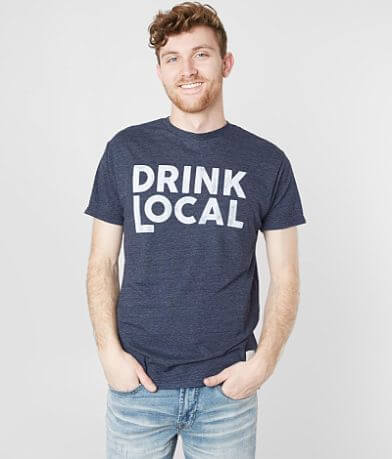 Retro Brand Drink Local T-Shirt