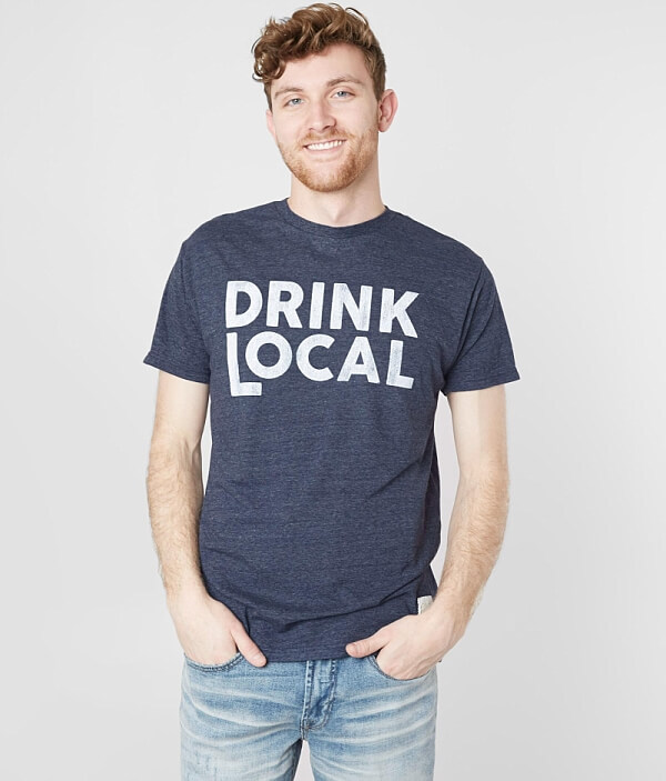 Brand Local T Drink Shirt Retro 0XUq8wxw