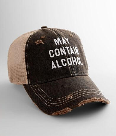 Retro Brand May Contain Alcohol Baseball Hat