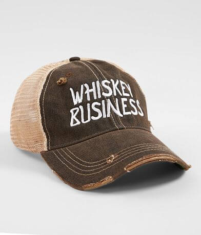 Retro Brand Whiskey Business Baseball Hat