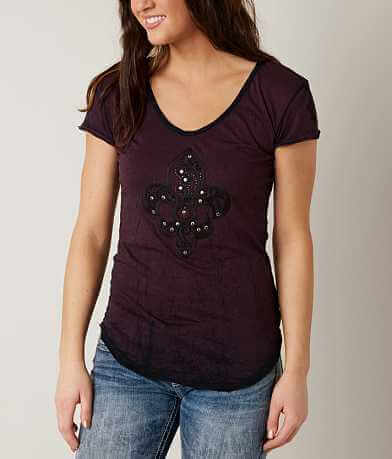 Velvet Stone Embroidered T-Shirt