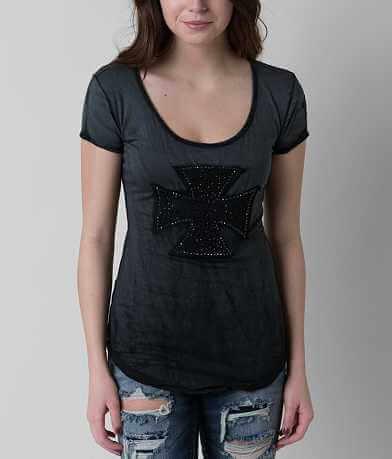 Velvet Stone Diamond Scroll T-Shirt