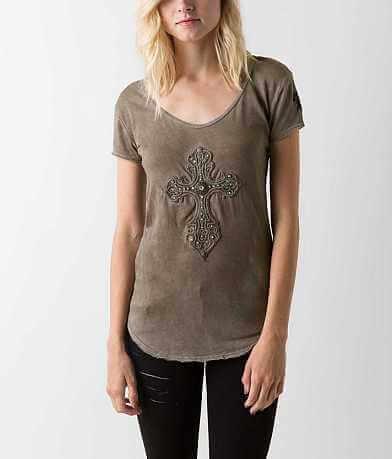 Velvet Stone Scrolled T-Shirt