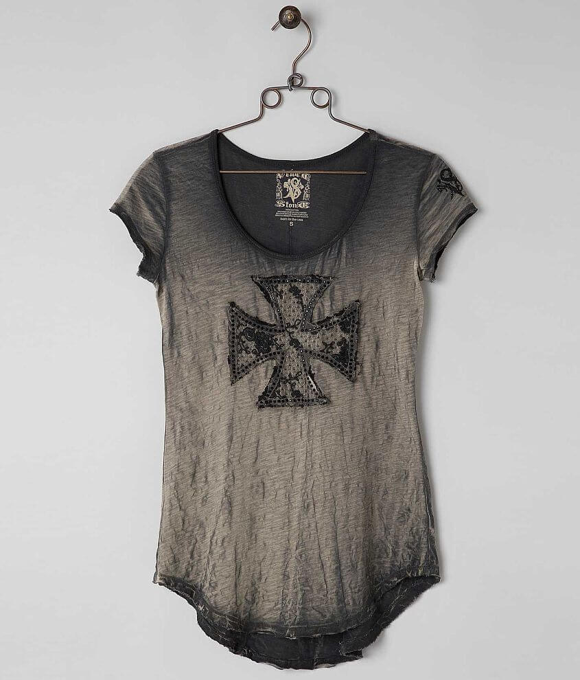 Velvet Stone Diamond Vail T-Shirt front view