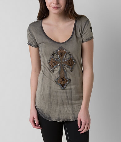 Velvet Stone Diamond Madonna T-Shirt
