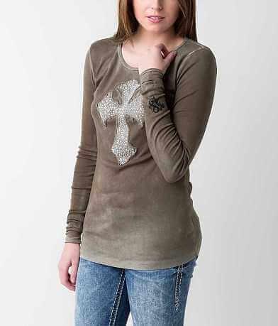 Velvet Stone Abalone Madonna T-Shirt