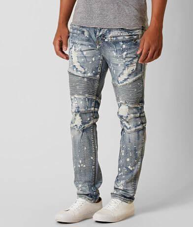 DOPE Carson Moto Taper Stretch Jean