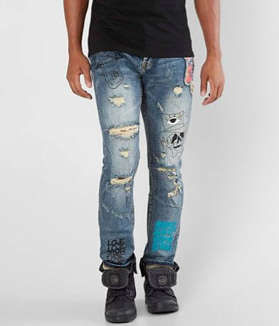 DOPE Hart Taper Stretch Jean