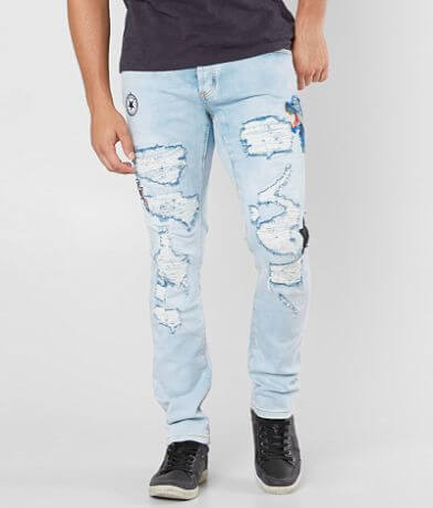 DOPE Viper Moto Taper Stretch Jean