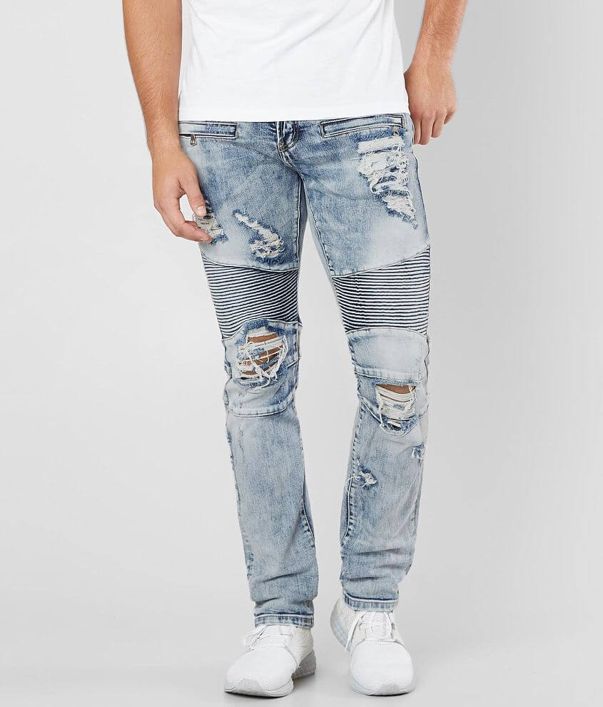 DOPE Mayer Moto Stretch Jean front view