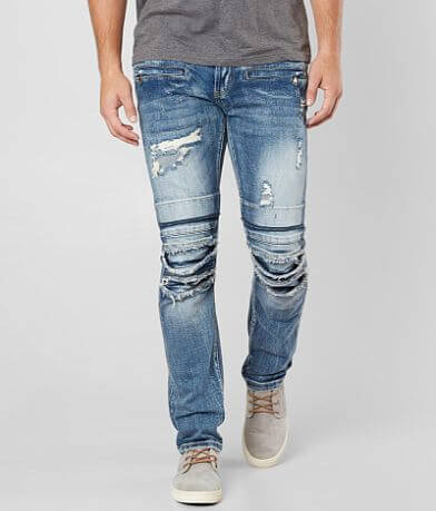 DOPE Weir Moto Taper Stretch Jean