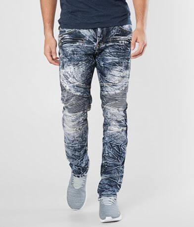 DOPE Oteil Moto Taper Stretch Jean