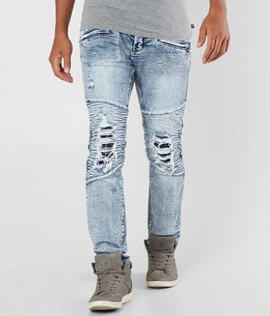 DOPE Page Moto Taper Stretch Jean