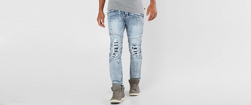 DOPE Page Moto Stretch Jean front view