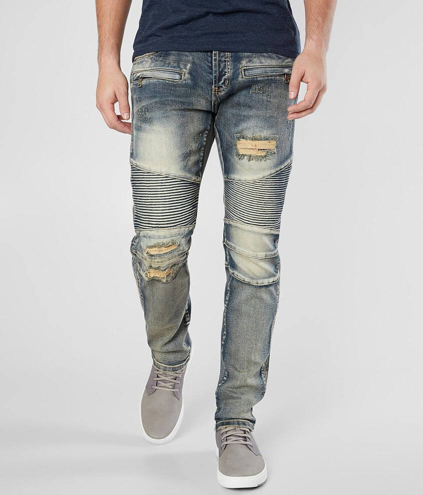 DOPE King Moto Stretch Jean front view