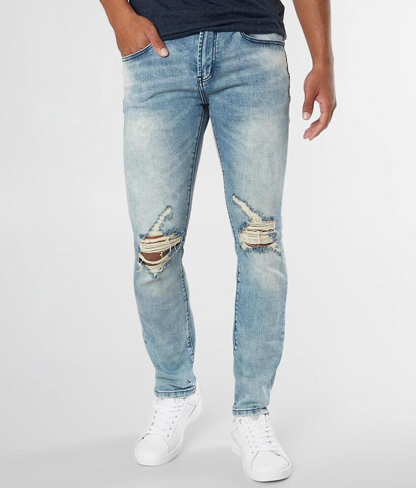 DOPE Devision Taper Stretch Jean front view
